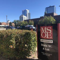 MSOE State St. Lot A, 517 E. State St. Photo by Mariiana Tzotcheva.