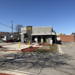 McDonald's - Bay View, 830 E. Potter Ave. Photo taken March 20th, 2021 by Dave Reid.