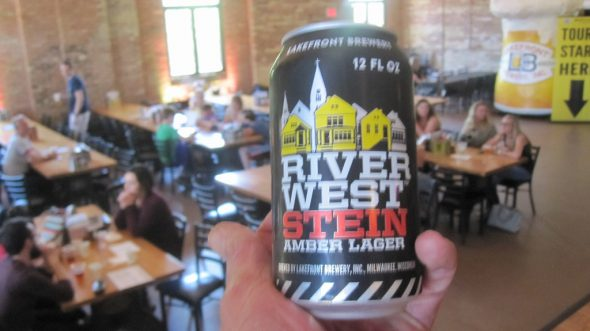 River West Stein cans. Photo by Michael Horne.