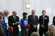 Ribbon cutting for Greenwich Park Apartments. Photo by Graham Kilmer.