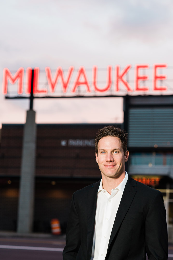 Paul Schwartz. Photo courtesy of the Milwaukee Public Market.