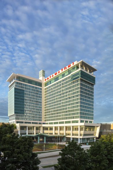Potowatomi Casino Hotel Expansion.