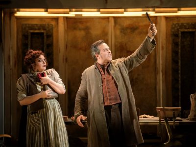 Theater: 'Sweeney Todd' Is Grisly Fun