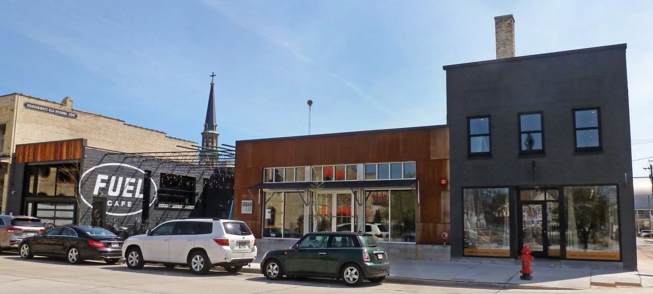 The Kubala Washatko Architects Urban Lab, 644 S. 5th St. Photo from the City of Milwaukee.