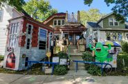 A&J's Halloween House. Photo by Jamie Beauchamp.