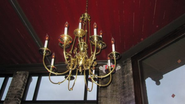 Chandelier. Photo by Michael Horne.