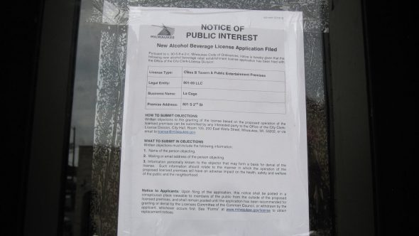 Notice of Public Interest. Photo by Michael Horne.