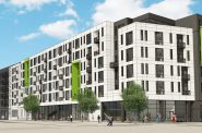 Park 7 Lofts. Rendering by Engberg Anderson.