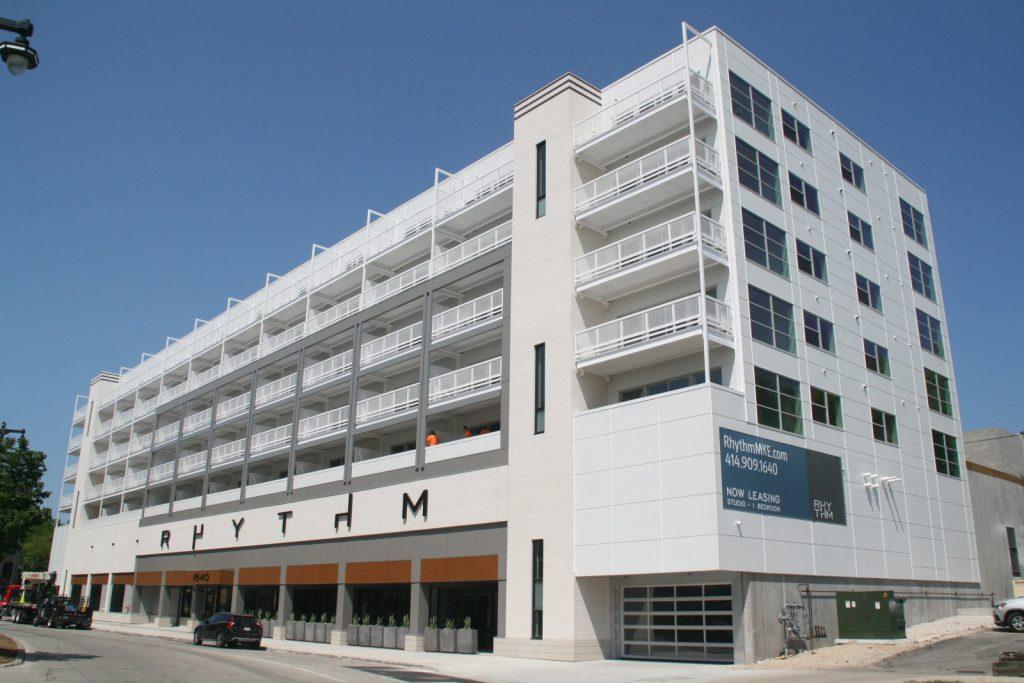 Rhythm Apartments. Photo by Jeramey Jannene.