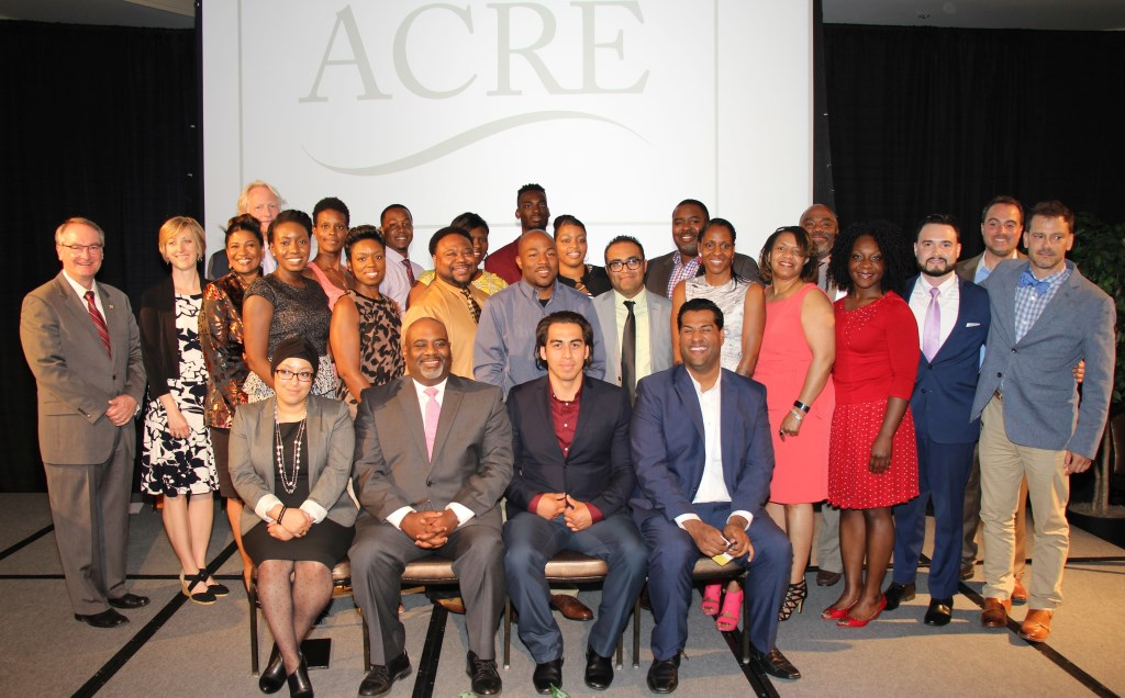 ACRE Class of 2017, and representatives from partners. Photo courtesy of LISC.