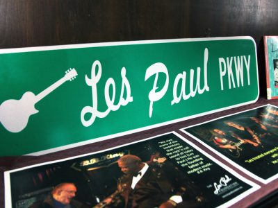 Photo Gallery: Les Paul Exhibit at Wauwatosa Library