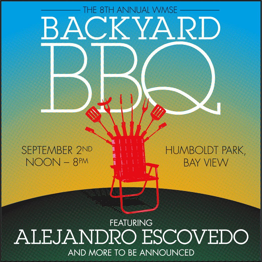 Alejandro Escovedo to headline 8th annual WMSE Backyard BBQ