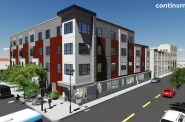 The Legacy Lofts at the Blommer Ice Cream Factory. Rendering by Continuum Architects + Planners, S.C.