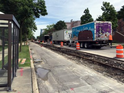 Milwaukee Streetcar Construction Progress: West St. Paul Avenue to Open in Both Directions Temporarily