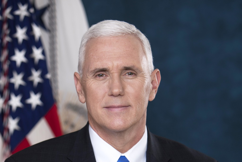 Mike Pence. Photo is in the Public Domain.