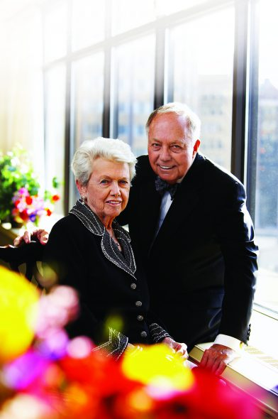 Kay and Ray Eckstein. Photo courtesy of Marquette University.
