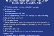 10 Essential Health Benefits at Risk Under Senate Bill to Repeal the ACA
