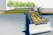 Trestle Park rendering. Rendering by HGA Architects.