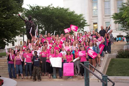 Planned Parenthood of Wisconsin Opposes Senate Repeal Bill. Photo courtesy of Planned Parenthood Advocates of Wisconsin.