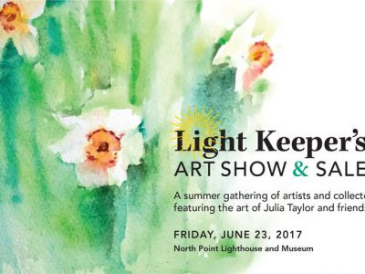 North Point Lighthouse to host the Light Keeper's Art Show and Sale, June 23.