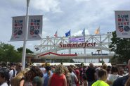 Long Lines at Summerfest's Opening. Photo by Alison Peterson.