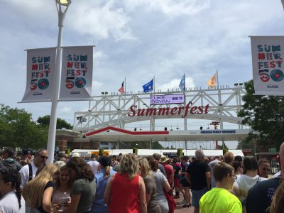 2018 Summerfest Emerging Artist Series at Johnson Controls World Sound Stage
