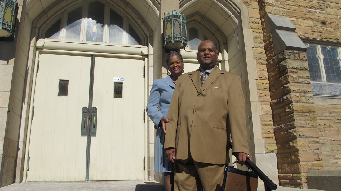 Joyce and Ken McGhee. Photo courtesy of NNS.