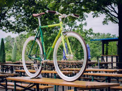 Fyxation Bicycle Co. & Milwaukee County Parks team up to launch Traveling Beer Garden custom bicycle