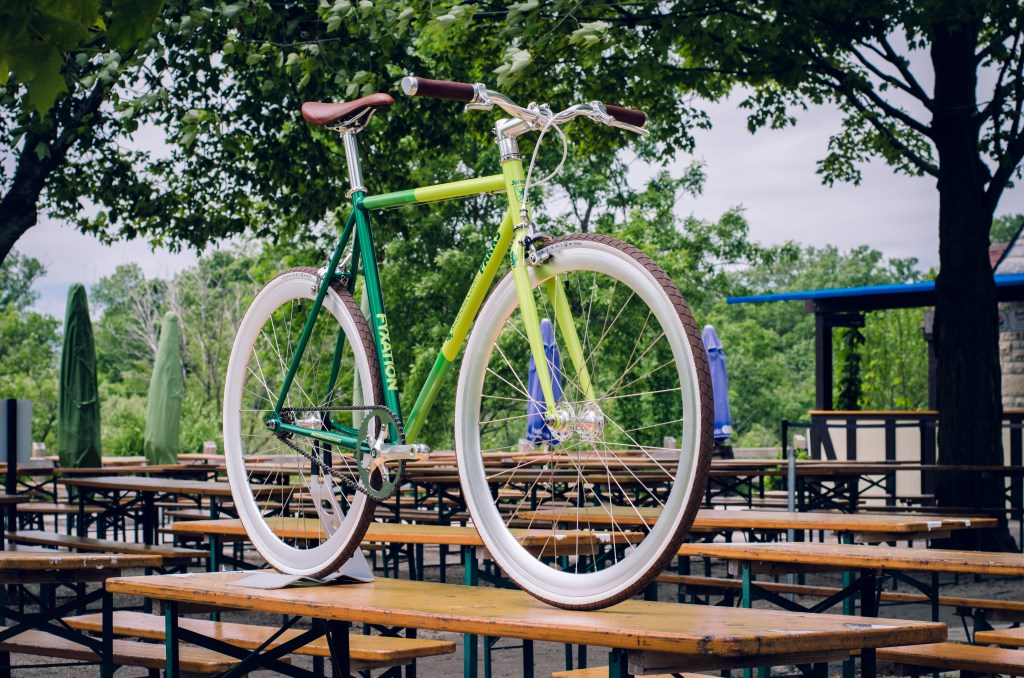 Traveling Beer Garden Bicycle. Photo From Milwaukee County Parks.