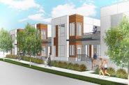 The Hills Townhomes. Renderings by Engberg Anderson.
