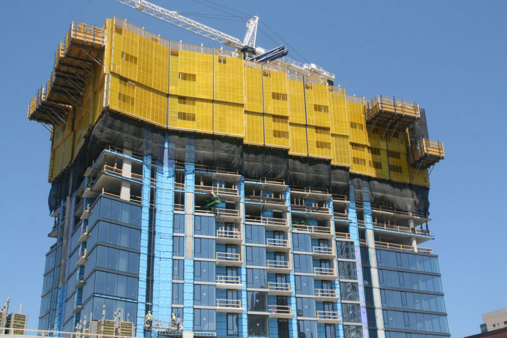 7Seventy7 Apartment Tower. Photo by Jeramey Jannene.