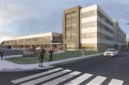 St. Augustine Preparatory Academy. Rendering by Korb + Associates Architects.