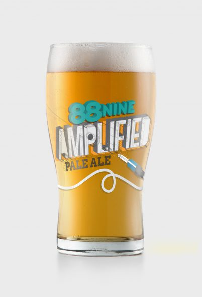 88Nine Amplified Pale Ale