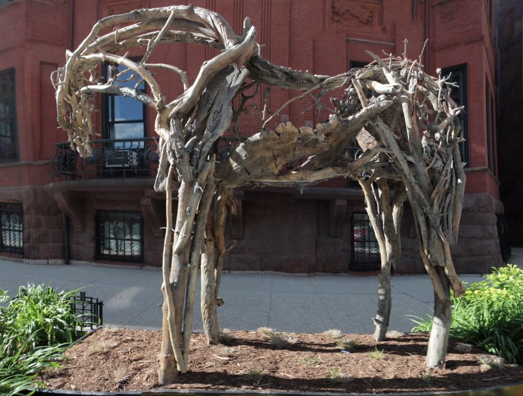 A Deborah Butterfield sculpture. Photo by Tom Bamberger.