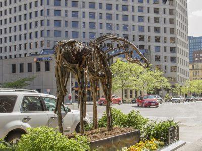 Wisconsin Avenue sculptures make virtual debut
