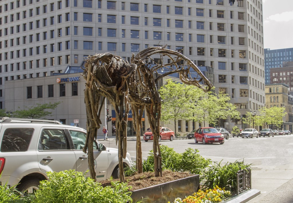 Wisconsin Avenue sculptures make virtual debut