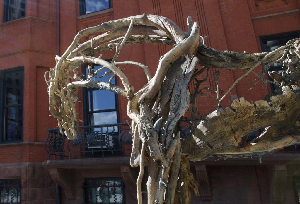 Big Piney a Deborah Butterfield sculpture. Photo by Tom Bamberger.