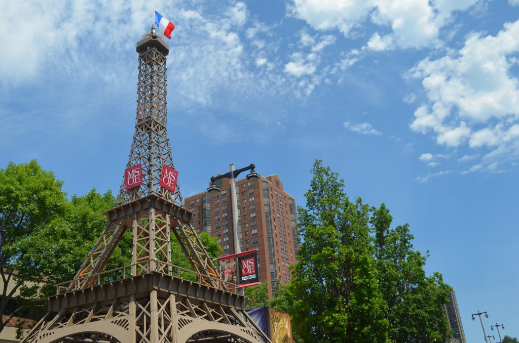 43-foot Eiffel Tower replica. Photo by Jack Fennimore.