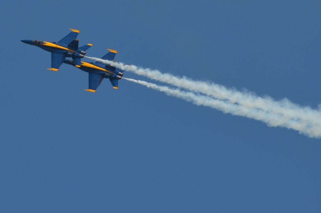 U.S. Navy Blue Angels. Photo by Jack Fennimore.