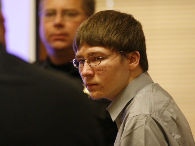 Brendan Dassey appears at the Manitowoc County Courthouse in Manitowoc, Wisconsin, April 16, 2007. In 2016, Dassey's conviction was overturned after a federal judge found his confession had been coerced. Photo by Dan Powers of the USA TODAY NETWORK-Wisconsin.
