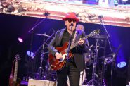 Elvis Costello and the Imposters. Photo by Kelsea McCulloch courtesy of the Pabst Theater Group.