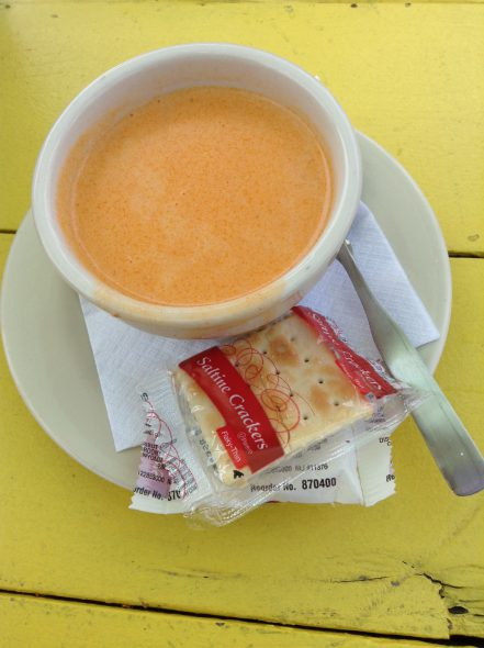The Crab Bisque. Photo by Cari Taylor-Carlson.
