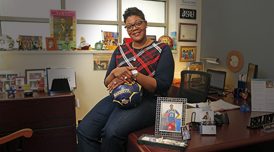 Latrice Harris-Collins. Photo courtesy of Marquette University.