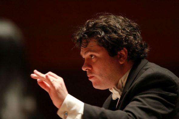 Cristian Măcelaru. Photo by David Swanson courtesy of the Milwaukee Symphony Orchestra.