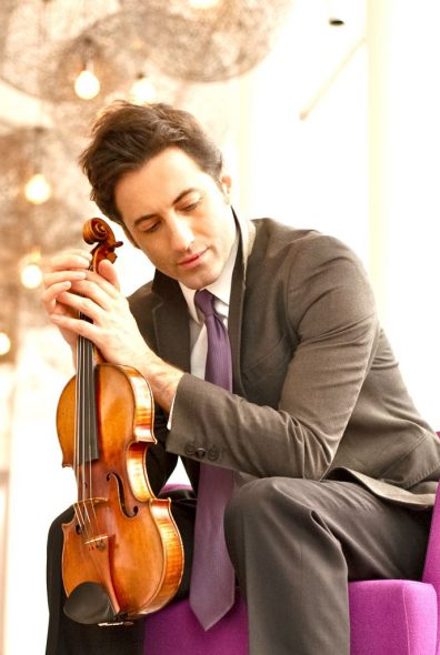 Philippe Quint. Photo by Jeff Gerew courtesy of the Milwaukee Symphony Orchestra.