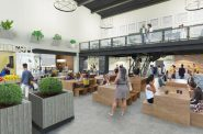 Sherman Phoenix Commons Rendering. Rendering by HGA.