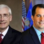 Do Walker, Evers Campaign on State Time?