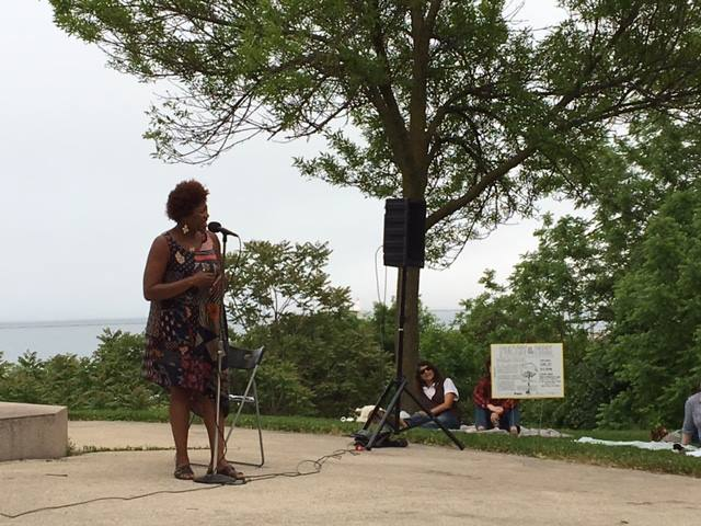 Poetry in the Park on July 11th
