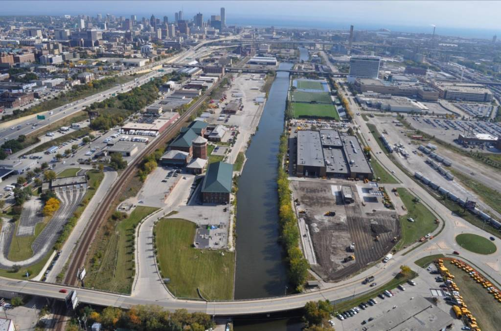 Menomonee River. Photo from City of Milwaukee.