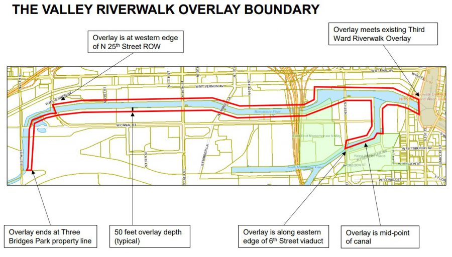 Menomonee Valley Riverwalk Plan